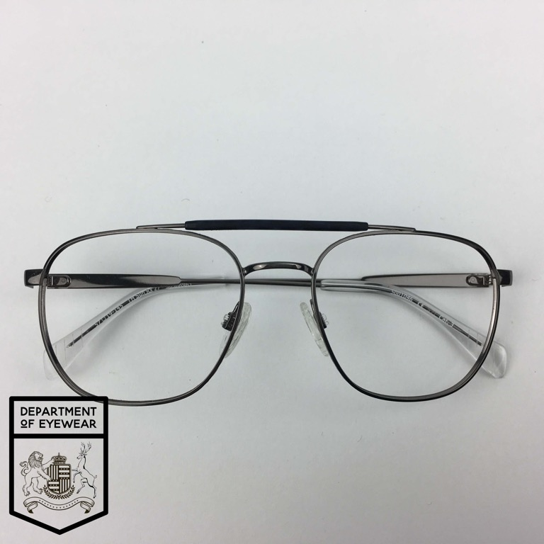 6e66a833cd HILFIGER eyeglasses GUN METAL AVIATOR FRAME Authentic MOD  30506961 ...