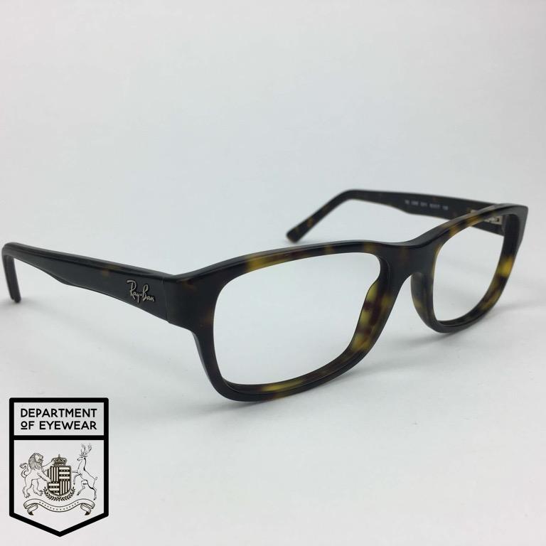 e2d1d285ef Details about RAYBAN eyeglass MATT TORTOISE  WAYFARER STYLE  frame  Authentic. MOD  RB 5268